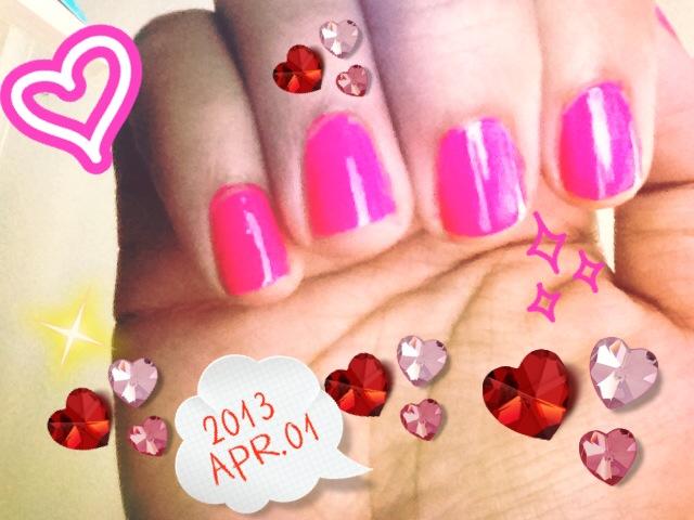 Bright Pink #nails